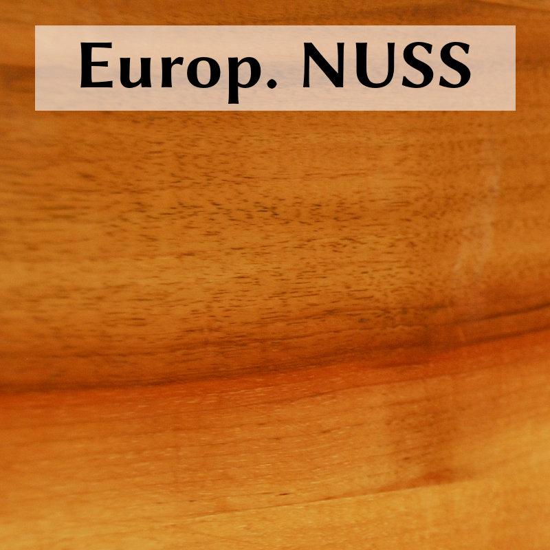 Europäische Nuß (Massiv oder furniert)