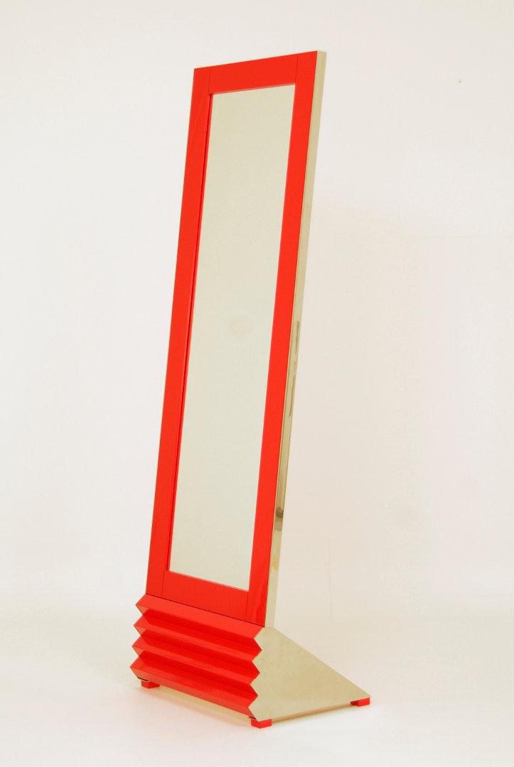 Spiegel Lack Rot