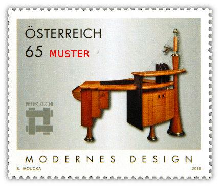 Briefmarke MODERNES DESIGN