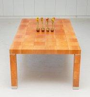 Tisch inkrustiert, L 220, B 120, H 75